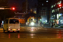 Kokaido crossing (kmmanaka) Tags: japan stairs crossing nightview nagasaki stonebridge kokaido umamachi