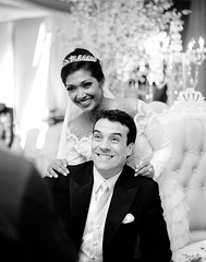The wedding of Nurul Wahab & Eric Depp (Ahmad Fadali) Tags: wedding people blackandwhite celebrity canon portraiture malaysia bnw malay malaywedding loveisintheair 1dmarkii