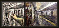 METRO-PINTURAS-SUBWAY-PAINTINGS-BARCELONA-CATALUNYA-PINTOR-ERNEST DESCALS (Ernest Descals) Tags: barcelona city urban españa art station train painting subway landscape tren spain artwork cityscape arte gare metro paintings cities ciudad catalonia personas urbanart ciudades artistas painter estacion subterraneo urbano catalunya persons dailylife actuales painters pintor cataluña pintura pintores pintar cuadros pinturas stations ciutat metropolitano pintures paisajeurbano paisatges estaciones quadres pintando catalans arteurbano paisajesurbanos vidacotidiana urquinaona pintors actuals ernestdescals pintoresactuales