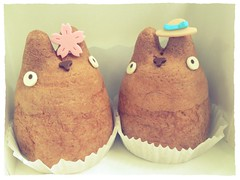 Totoro Cream Puffs (highglosshighs) Tags: japan tokyo strawberry chocolate may totoro ghibli creampuff takaido 2013 shirohigekoubou uploaded:by=flickrmobile flickriosapp:filter=chameleon chameleonfilter