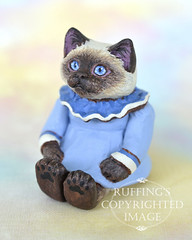 Darla the Ragdoll Kitten by Max Bailey (ruffingsartdolls) Tags: original cats art animal cat miniatures miniature doll dolls handmade originalart oneofakind ooak painted artdolls handpainted collectible artdoll ragdoll dollhouse collectable anthropomorphic handmadedoll artistdoll catart handsculpted paperclay dollhousedolls maxbailey handscupted ruffings