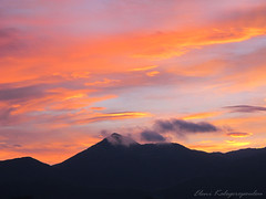 Sunset (Lena_K.) Tags: sunset sky mountain colors clouds landscape arcadia elenikalogeropoulou
