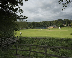 The village cricket match (JEFF CARR IMAGES) Tags: rural yorkshire bradfield villagelife northofengland summerevenings villagecricket