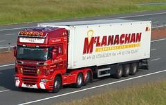 Scania R560 SK12 MYU - D Steven & Son (gylesnikki) Tags: red truck scotland scottish artic wick dstevenson