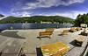 Lakeside Lake District (Muzammil (Moz)) Tags: panorama lakedistrict bluesky lakeside moz fisheyelens canon60d muzammilhussain afraazhussain