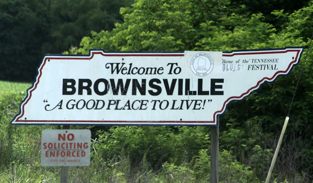 Welcome to Brownsville, TN