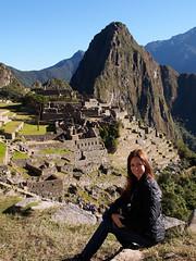 Luciana at Machu Picchu
