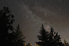 Milky Way Vulpecula to Sagittarius from Tobermory (diamond-skies) Tags: ontario way nightscape bruce sagittarius peninsula milky tobermory widefield vulpecula
