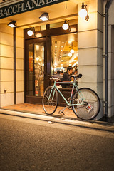 20130808_06_ZUNOW Bicycle (foxfoto_archives) Tags: bicycle japan photoshop 35mm canon eos tokyo ginza mark f14 sigma adobe ii  5d   50 dg lightroom hsm a012 zunow