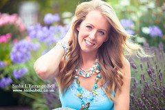 Summer Colours (Sasha L'Estrange-Bell) Tags: flowers summer portrait sashabell oliviabell sashabellphotography