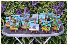 Exposition of small regional paintings (Zyla, K. alone) Tags: summer festival picnic exposition regional beskidniski wysowa pentaxda55300 pentaxkr flickrandroidapp:filter=none