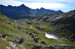 Robiei - Lago dei Matörgn 2470m (Photo by Lele) Tags: del lago ticino san val neve carlo sentiero funivia bianco nero dei • ghiacciaio capanna stambecchi cristallina basodino robiei bavona glaciologico matörgn