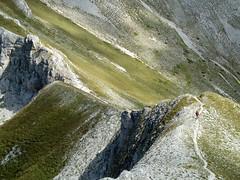 Escursionismo Gran Sasso - Cresta delle Malecoste