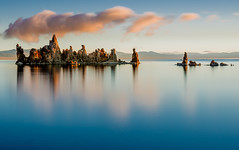 Mono Lake, Sunrise (andertho) Tags: california park morning lake reflection clouds sunrise dawn mono state uncool tufa d800 cool2 cool5 cool3 cool6 cool4 leefilters cool7 bigstopper uncool2 uncool3 iceboxcool