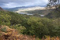 Snowdonia landscape (Keartona) Tags: autumn trees wales landscape woods october scenery view lakes hills bracken snowdonia northwales