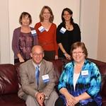 """<b>1988 #4</b><br/> Front Row: Joel Bacon, Beth (Hawkinson) Hampton.  Back Row: Beth (Cooper) Eide, Anne (Lysne) Taylor, Michelle Porter. <a href=""""http://farm4.static.flickr.com/3686/10422596673_aa12728033_o.jpg"""" title=""""High res"""">∝</a>"""