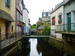 Quimper, Finistère - France (Mic V.) Tags: street old bridge france building architecture river la town brittany riviere bretagne breizh le pont rue ville vieille kemper quimper finistère finistere steir cornouaille