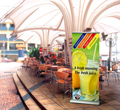 Banner Stands | Signarama | Barracuda