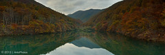 W e C a n W o r k I t O u t (AnthonyGinmanPhotography) Tags: autumn panorama japan dam autumncolours somewhere ueda naganoprefecture olympuse620 olympus1122mmf28