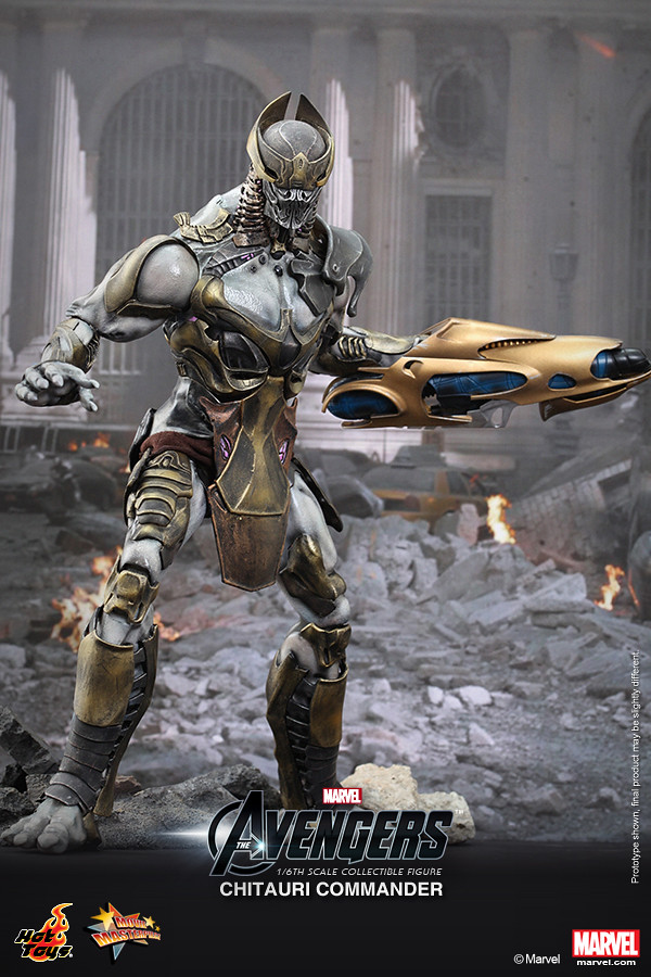 Hot Toys - MMS227 - 復仇者聯盟: 1/6 比例 奇塔瑞指揮官