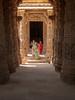 Gujarat : Modhera, Sun Temple #6 (foto_morgana) Tags: india temple asia columns pillars hinduism carvings surya gujarat historicalsite modhera modherasuntemple