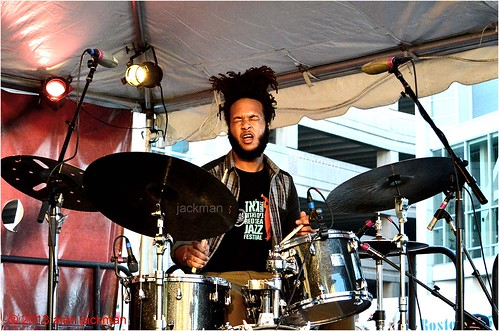 Cory Fonville, Christian Scott Ensemble, 2013 Beantown Jazz Festival