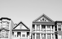 duboce classics (eb78) Tags: sf sanfrancisco california ca blackandwhite bw monochrome architecture grayscale dubocetriangle greyscale