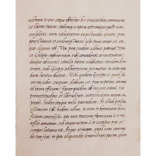 Corsivo italico, 1550-1555 ❤️ #handwriting #calligraphy #bibliotecamalatestiana