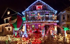 Some people really like Xmas. Like our neighbors here.