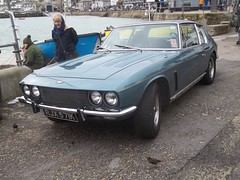 Jensen Interceptor SP (occama) Tags: old uk classic sports car vintage 1971 cornwall british 1972 v8 jensen interceptor prestiege rjx571k