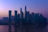 2014年拂曉前的黑暗/2014 Darkness before dawn (casper shaw) Tags: city landscape photography nikon shanghai cbd 城市 建筑 lujiazui 日出 摄影 公路 蓝色 金融 财富 静安区 发展 概念 商务 视角 sigma1224ii 地标建筑 都市风光