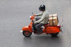 (seua_yai) Tags: street city urban thailand asia southeastasia bangkok wheels scooter motorbike thai silom sathorn narathiwat chongnonsi