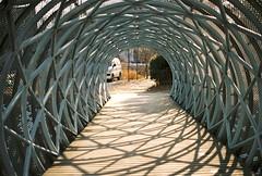bridge (ulanalee) Tags: film 35mm minolta kodak minoltax700 southkorea paju portra400 kodakportra400 파주 heyriartvillage heyriartvalley 헤이리문화예술마을