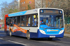 GX58 GMU, Isambard Brunel Road, Portsmouth (Southsea_Matt) Tags: portsmouth route23 27557 enviro300 stagecoachsouthdown gx58gmu isambardbrunelroad
