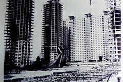 Image titled Construction of Red Road Flats 1960s