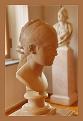 Jean-Antoine Houdon (1741-1828) Mademoiselle Lisa, 1775 (Sergei P. Zubkov) Tags: sculpture art stpetersburg december kunst skulptur marble hermitage marbre the marmor 2013