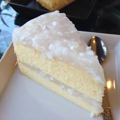 เค้กมะพร้าวอ่อน | Young Coconut Cake @ บ้านกาแฟ สารภี | Ban Kafae Sarapee