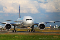 Philippine Airlines B777-300ER (RM Bulseco) Tags: landscape airport singapore philippines international airbus manila boeing airlines aquino philippineairlines saudia ninoy airines cebupacificair 1100d