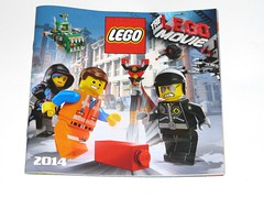 lego 2014 catalogue (tjparkside) Tags: building metal trash movie lego bricks bad beards mini lord cop chomper duel catalogue figures emmet 2014 wyldstyle buisiness thelegomovie
