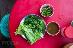 Myanmar Jan 2014 (66 of 715).jpg (PicciaNeri) Tags: road travel urban food tourism cooking dinner recipe asian lunch cuisine restaurant asia southeastasia dish market handmade eating yangon burma poor culture mint streetlife buddhism selection broccoli vegetable fresh adventure lettuce homemade meal greens ingredients vegetarian condiment peppers myanmar variety chilli typical sell popular burmese cheap streetfood seller herb sauces staple developingcountry foodstall eatery rangoon sprouting foodvendor thirdworld matural