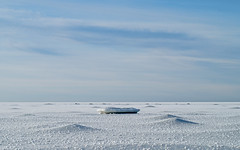 Winter Seaside (Camomelle) Tags: winter sea sky snow ice landscape seaside stones latvia saulkrasti