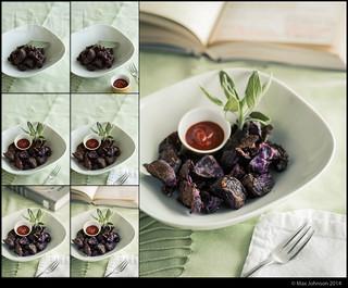 Purple Potato Process