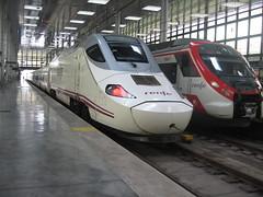 The Ave hi-speed train(L) in Cadiz (Shirley Pickthorne-Elliott) Tags: trains ave cadiz