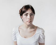 (paolomezzera) Tags: portrait woman white girl bianco blanc ritratto