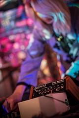 Eva Bowan (agataurbaniak) Tags: lighting uk music 50mm concert nikon brighton unitedkingdom live gig performance synth electronicmusic nikkor psychedelic electronic lightshow concertphotography 50mm12 synthesizers synthesizer ais 2014 d600 nikkor5012 hotelpelirocco nikond600 nikkor50mm12 synthesizeme innerstringspsychedeliclightshow evabowan agataurbaniak