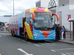 SE 33 Dublin Airport 18/07/15 (Csalem's Lot) Tags: bus expressway x20 scania dublinairport maser aoa buseireann irizar i6 se33 id2015