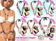 Rodi Necklace & Bangles @ OhMyGacha