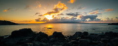 Island Sunset V (Do the Twist!) Tags: ocean sunset clouds landscape hawaii lava rocks maui vegetation