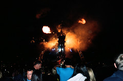 (adam sharp) Tags: show uk summer england music classic film festival set 35mm fire photography spider mac dj mju kodak britain glastonbury somerset olympus retro 400 annie british portra musicfestival afterparty glasto arcadia afterhours anniemac worthyfarm mju2 kodakportra μmjuii glastofest glasto2015