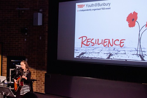 TEDxYouth@Bunbury Performer Elavina Williams